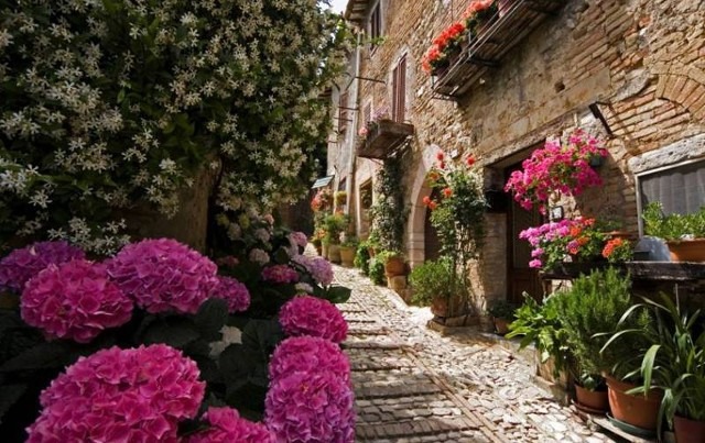 The village of Montefalco